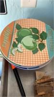 Baking tray, interplak, decorative plates, misc