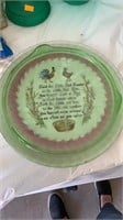 Bowls, plates, musical dancing doll, misc