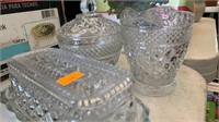 Lot of 3 Crystal Glass