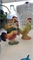 3 chickens decor