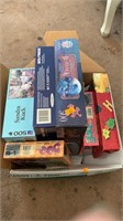 Box of puzzles