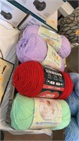 Flat of yarn