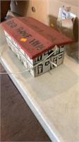 Red Roof Inn birdhouse