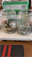 Canning jar rings -2 jugs
