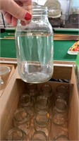 Box of Glass jars
