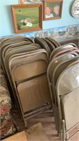 24 metal chairs