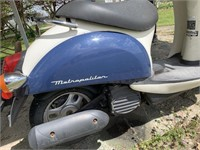 Honda Scooter  - Blown Engine with - w/Title