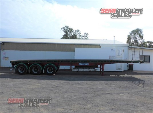 1988 Freighter Flat Top Trailer Semi Trailer Sales - Trailers for Sale