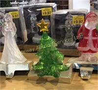Christmas Decor with Hooks for Hanging Stockings