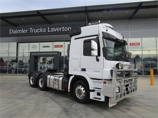 2014 Mercedes Benz Actros 2660 - Trucks for Sale