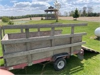 Trailer - approximately 6ft - with Title