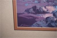 L Sisson landscape print