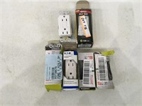 Lot of Switches and Outlets Open Box