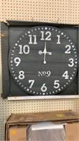 Grey wall clock Threshold