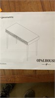 Opalhouse whit and brown writing desk