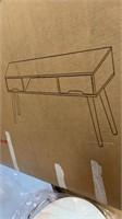 Grey oak table/desk