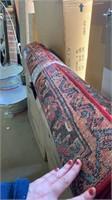 Safavieh vintage Hamadan 4x6 rug Color rouge/