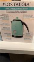 Nostalgia retro electric water kettle