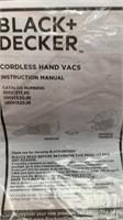 Black & Decker hand vac