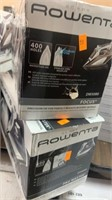 Lot of 2 Rowenta Irons