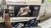 Lot of 2 Rowenta Irons