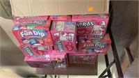 Box of nerds and fun dip