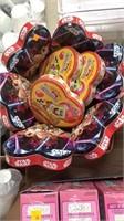 Star Wars candy hearts and spongebob hearts