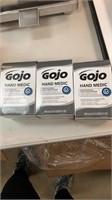 3 boxes of GoJo hand medic professional skin
