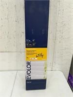 """Levolor 2"""" Faux Wood Blinds 69 3/4""""x64"""" Open box"""