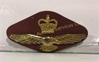 Royal Canadian Air Force Queens Crown Wedge Cap...