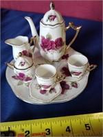doll size tea set
