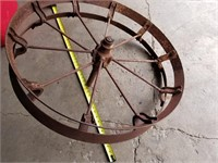 "steel impliment wheel  30 """