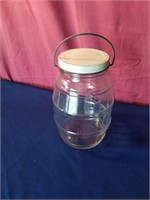 pickle jar w/ wire handle