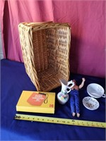 basket  camera toys and more