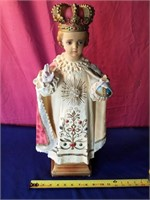 "religious fig    23"" tall"