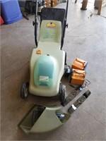 neuton lawn mower  battery powered