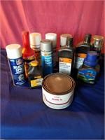 paint oil polish ect