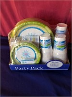 party pack  paper set