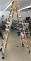 Werner 8 ft, A frame ladder