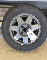 Volkswagen rim & tire