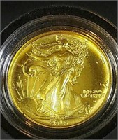 2016 1/2 oz Gold Walkiing Liberty
