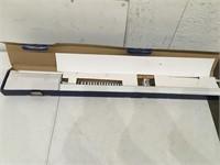 "Levolor Vertical Blind Headrail 25 1/4"""