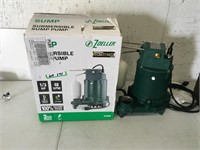 Zoeller 1/3 HP Submersible Sump Pump