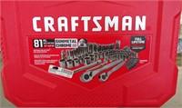 Craftsman tool set 81 piece
