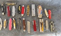 Assorted knives