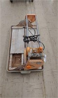 Chicago electric tile saw
