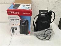 Utilitech Submersible Utility Pump Open Box