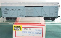 Virginian 61550 SS Wood Box Car Life Like HO