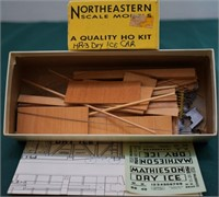 Mathieson NX8840 Dry Ice Car Northeastern HO Kit