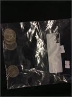 6 1776-1976 Kennedy Half-dollars